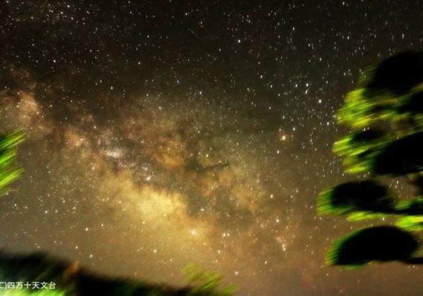 高知-四万十-天文台-夏-天の川